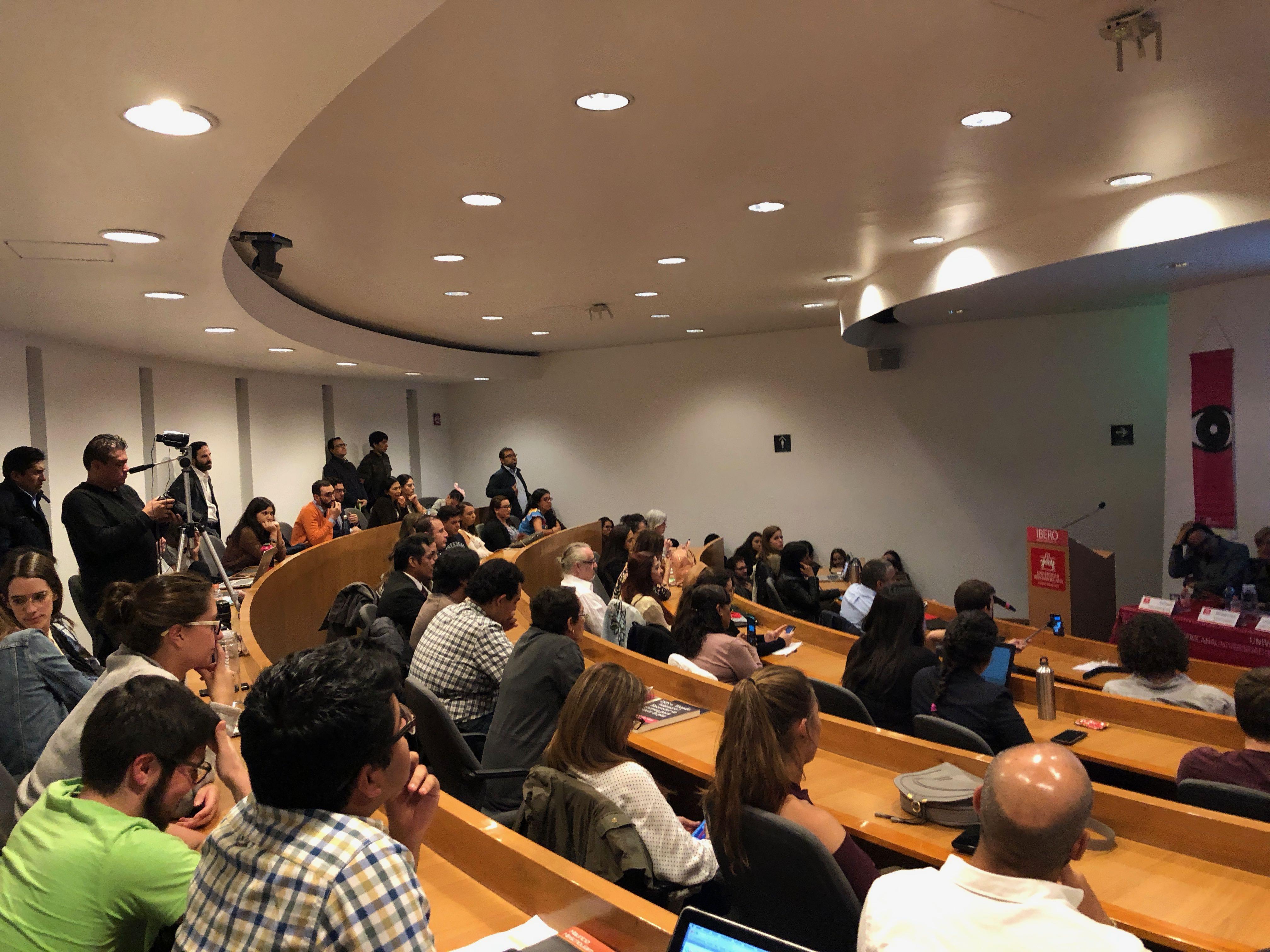 Presentación del libro «Crimen organizado, Miedo y Construcción de Paz en México» en la Universidad Iberoamericana