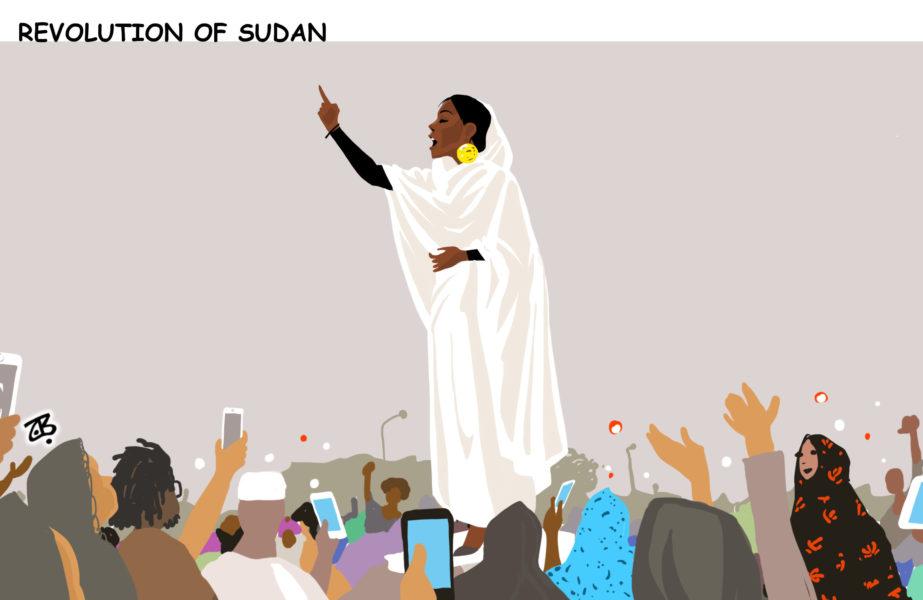 En Sudán, las mujeres le mostraron al mundo cómo se hace.