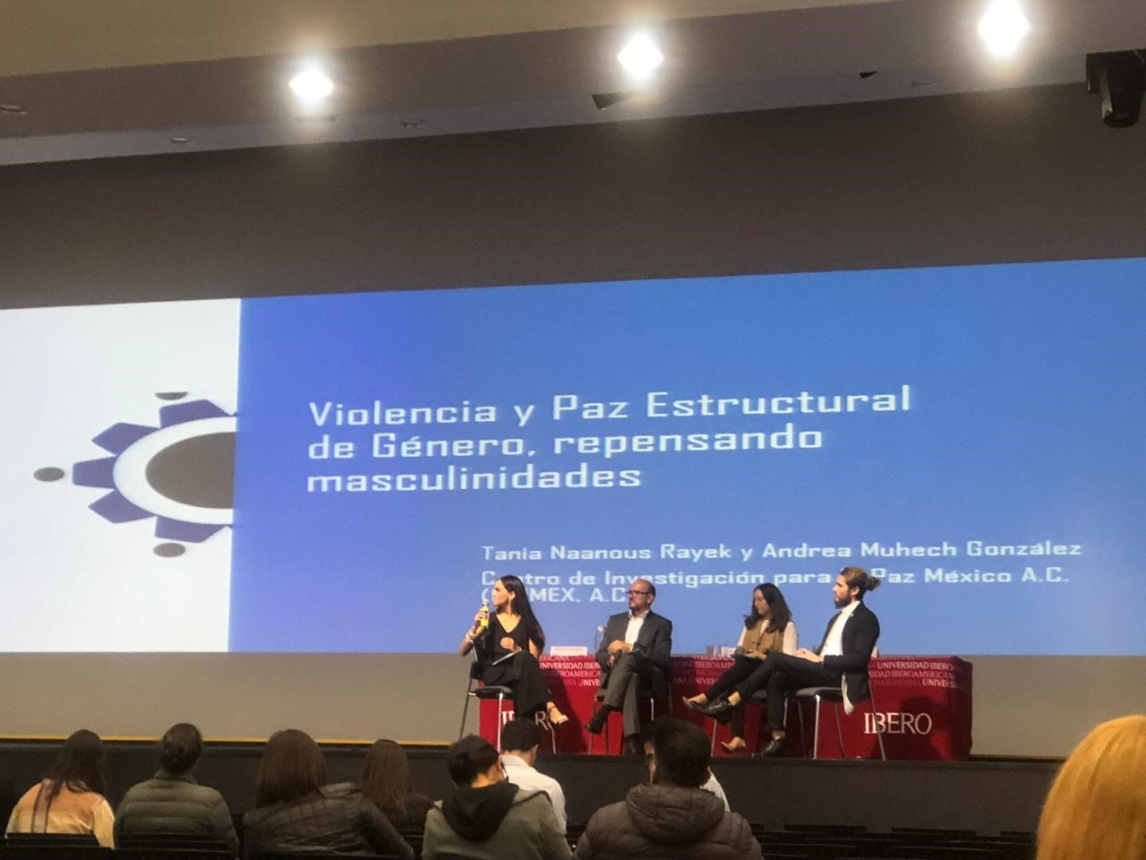 """Participación en el """"Tercer Congreso de Construcción de Paz con Perspectiva de Género"""""""