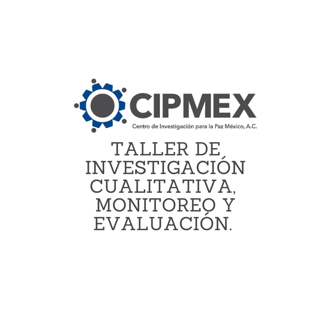 Taller de «Investigación Cualitativa, Monitoreo y Evaluación» por Zoom