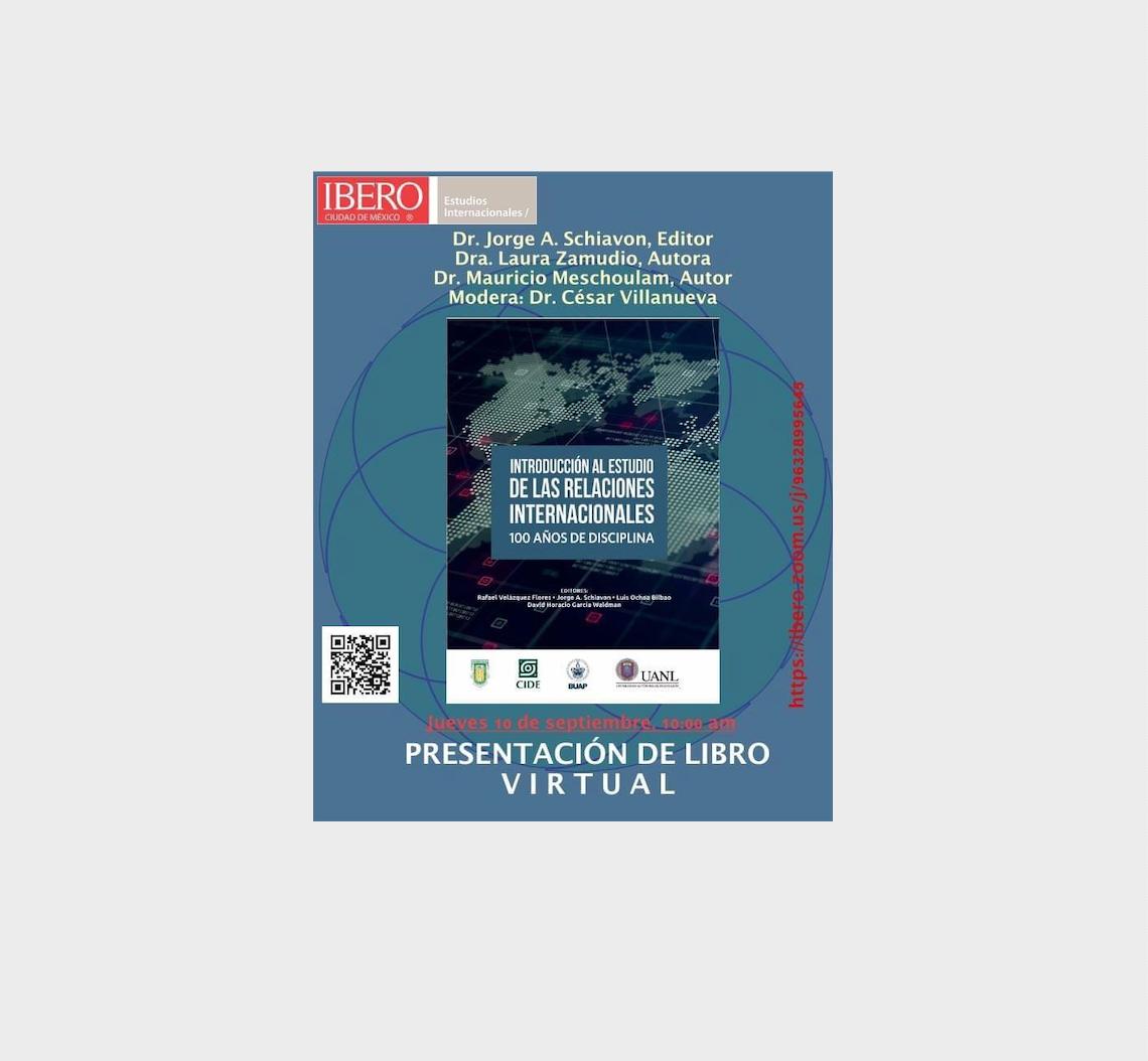 El Director de CIPMEX, Mauricio Meschoulam, participó en la presentación del libro «Introducción al Estudio de las RRII, 100 años de historia»