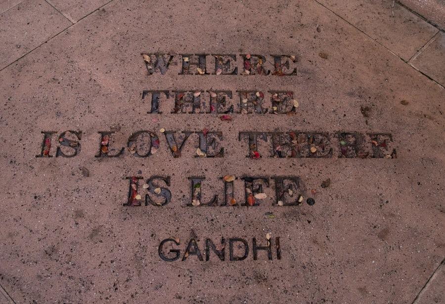 Gandhi and Marx