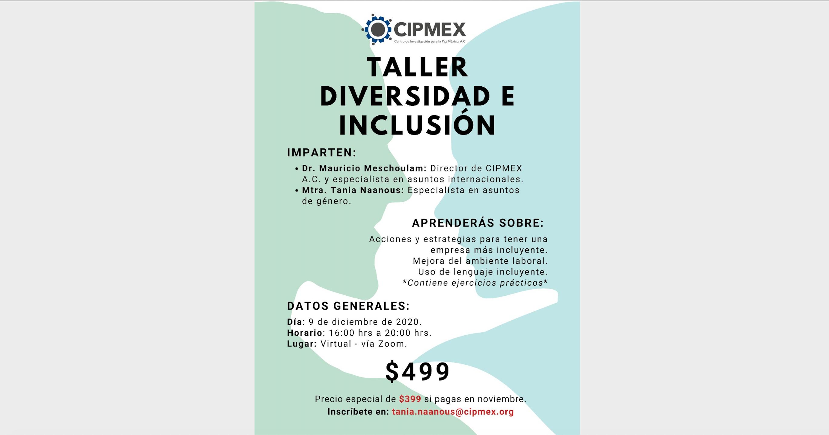 Taller de Diversidad e Inclusión