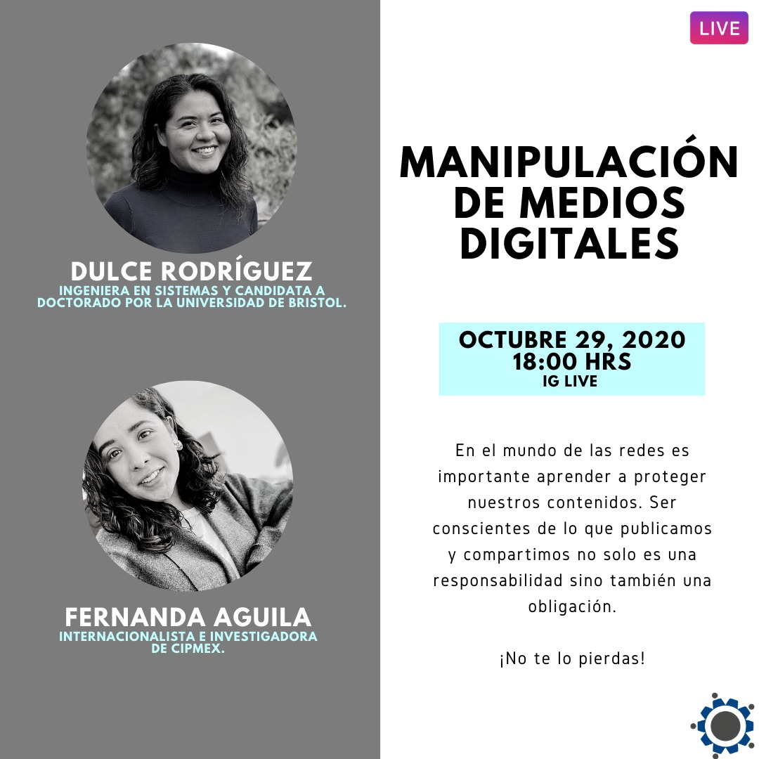 Instagram live – Manipulación en Medios Digitales.